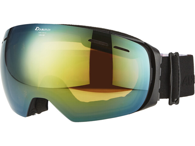 Alpina Granby Multimirror Goggles gold spherical s2/black matt